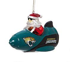 Jacksonville Jaguars Tree Ornaments