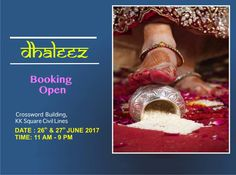 #Dahleez: Best Place to Showcase Your Products! Book Today! Start & End Date- 26th-27th June'17 Timings: 11:00 AM - 9:00 PM Address: Crossword building, KK Square, C-scheme Contact: +91-9116056165, +91-9116056167 #Events #Exhibition #Rakhi #Lifestyle #CityShorJaipur