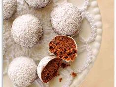 レンジで2分♡ココアスノーボールクッキーの画像