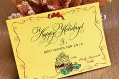 Happy Holiday Gifts Card designed by Darcy Sang