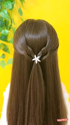 Easy Hairstyles For Long Hair, Braids For Long Hair, Up Hairstyles, Kawaii Hairstyles, Hair Up Styles, Women Hair Styles, Natural Hair Styles, Hair Creations, Hair Remedies