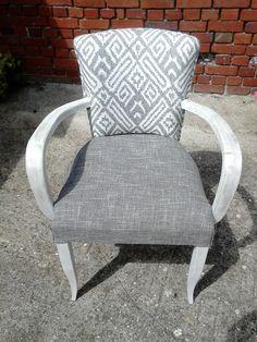 62690 idées et créas: Restauration fauteuil bridge avant / après