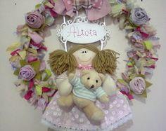 Guirlanda p/porta maternidade/nascimento