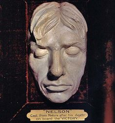 Nelson death mask