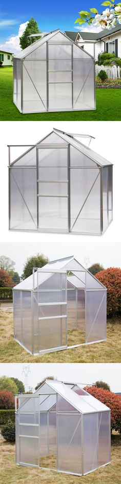 Greenhouses and Cold Frames 139939: Outsunny 12X10x7 Walk In ...