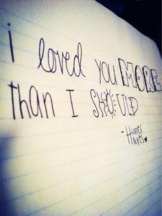 -Hunter Hayes More Than I Should