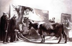 The Innocent Eye Test by Mark Tansey