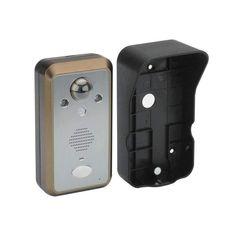 Wireless Door Intercom SafeGuard II 3.5 Inch TFT LCD Screen PIR Motion Detector IP55 Waterproof 300m