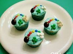 St. Patrick's Day cupcake idea