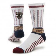 Stance MLB Sentry San Francisco Giants Socks - White