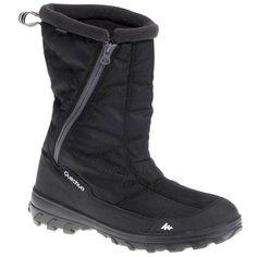 e1ae6d03cd8 QUECHUA SH100 x-warm Men s Hiking Boots - Black
