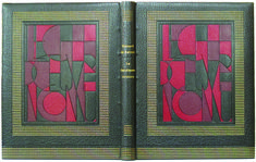 Georges Crette binding of Balzac's Le Chef-d'Oeuvre Inconnu illustrated with thirteen etched plates by Picasso. One of 65 printed copies.