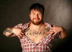 Chef Jonathon Sawyer has 10 tattoos