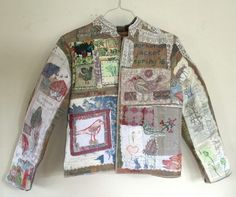 Anne Kelly artist, author and tutor Mini Quilts, Textiles, Jackets, Author, Tops, Artist, Women, Products, Fashion