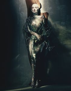Kate Moss by Paolo Roversi for W Magazine