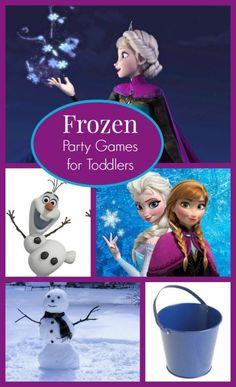 Even the smallest ones love to get in on the fun with these cute Disney's Frozen party games for toddlers!