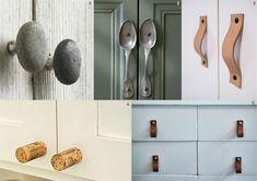 Cambia los #tiradores de tus #muebles de #cocina por otros más originales