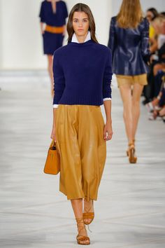 Ralph Lauren Spring 2016 Ready-to-Wear Fashion Show - Pauline Hoarau