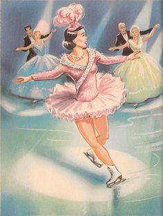 Little Skater Rand McNally Elf Book Illustrated by Dorothy Grider Vintage 1959