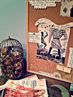 Le Journal Brûlé: DIY | The Cork Board Project
