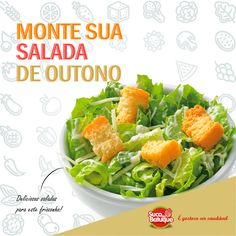 Sua salada personalizada!   Venha e confira 😉    #Santos #praia #alimentação #natural #suco #açai #acai #vitaminas #fitness #quersaude #vidasaudavel #crossfit #salada