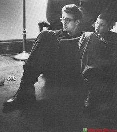 James Dean and Marcus Winslow Fairmount Indiana