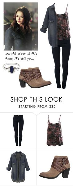 """Elena Gilbert - tvd / The Vampire Diaries"" by shadyannon ❤ liked on Polyvore featuring STELLA McCARTNEY, Miss Selfridge and Lucky"