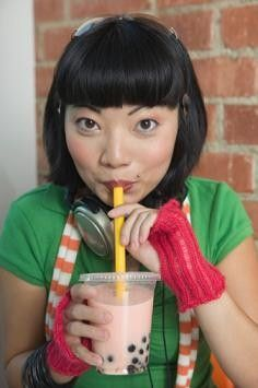 Bubble Tea Recipes-Mango, coconut, green tea
