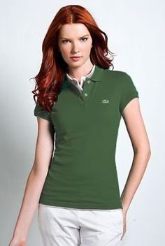 afa53c8a8ae0 Brand New Authentic Factory Overrun Lacoste Women s Short Sleeve  Non-stretch Pique Polo Color  Emerald Green Php