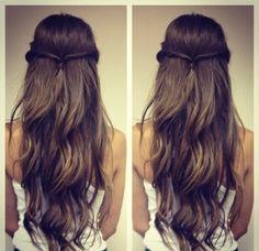 Lang golvend haar #Hair