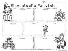 A free graphic organizer to use with any fairy tale genre story! Graphic organizer includes boxes for characters, setting, beginning, middle, end, problem, and solution! Connect with me! Be sure to follow my TpT store by clicking on Follow Me  next to my Seller picture to hear about any updates or sales!