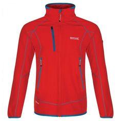 Mens Sumatra Hybrid Softshell Jacket (Amber Glow)