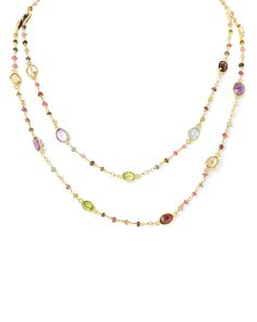 Spotted this Felix & Lola By Rivka Friedman 14K Over Silver Gemstone 40in Necklace on Rue La La. Shop (quickly!).
