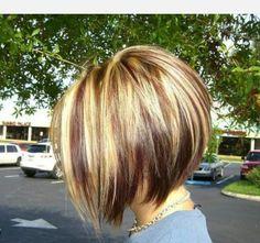 Hair cut aline