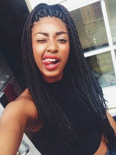 box braids for teenagers - Google Search