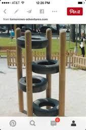 """Attēlu rezultāti vaicājumam """"playground tires wood"""""""