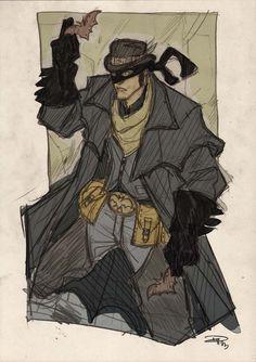 Wild West Batman by Denis Medri - Western Justice League Redesign