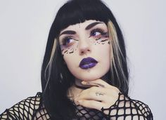 """2,840 Likes, 20 Comments - Rouge & Rogue™ (@rouge.and.rogue) on Instagram: """"BAT 🦇 them LASHES! @lou.von.bright lookin' like the sweetest sin in 'Alpha Girl' lashes, plum lips,…"""""""