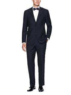 Navy Tuxedo by Hickey Freeman at Gilt