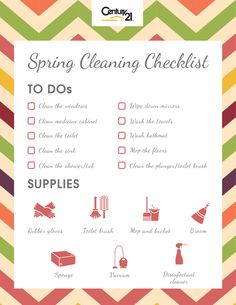 Spring Cleaning Checklist: Bathrooms