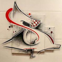 Graffiti Lettering Alphabet, Graffiti Writing, Tattoo Lettering Fonts, Graffiti Font, Graffiti Tagging, Graffiti Designs, Graffiti Wall Art, Graffiti Styles, Street Art Graffiti