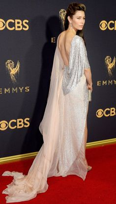 Emmy Awards Dresses That Are Even Better from Behind - Jessica Biel in Ralph & Russo