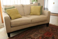 This guide is about repairing tears on microfiber furniture. When furniture fabric is torn, fixing it can be a challenge. Vintage Sofa, Sofa Design, Interior Design, Loveseat Sofa Bed, Chesterfield Sofa, Types Of Couches, Couch Repair, Microfiber Couch, Corner Furniture