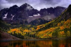 A 'must' for every Colorado photographer - the splendor of Maroon Bells, Aspen, Colorado in the fall