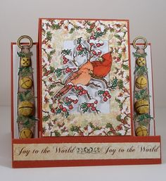 Center Step Cardinals_lb by Clownmom - Cards and Paper Crafts at Splitcoaststampers #HeartfeltCreations