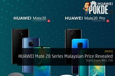The prices of the new Mate 20 series has been officially revealed. Technology News, Pocket, Facebook, Twitter, Google