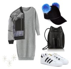 """""""Pom Pom!"""" by tyra-breann on Polyvore featuring Charlotte Simone, adidas, 3.1 Phillip Lim and Tom Ford"""
