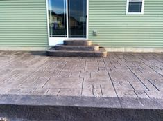 Real Help Custom Concrete Company of Buffalo and Western New York is local, licensed, and insured. We specialize in all flatwork. View our stamped concrete gallery! Poured Concrete Patio, Stamped Concrete, Concrete Floors, Backyard Patio, Buffalo, New Homes, Flooring, Outdoor Decor, House