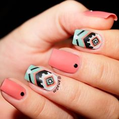 21 Summer Season Nails Art Ideas That Are Trending Right Now Summer season nails should be carefully taken care for. Your nails will be in the center of attention in the summer. Use our ideas for the ideal manicure! https://naildesignsjournal.com/season-nails-art-ideas/