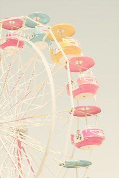 a vida é uma roda gigante